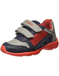Liberty Lucy&Luke Boy's KSN-201 Blue Indian Shoes