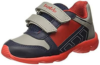 Lucy&Luke (By Liberty) Boy's KSN-201 Red Indian Shoes-1 UK/India (33 EU) (9956023120330)