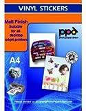 PPD Inkjet selbstklebende Vinyl-Folie, matt, DIN A4, 20 Blatt
