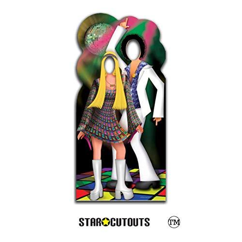falksson Disco Couple-Stand- In , - Kostüm Ceremonie