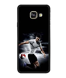 printtech Football Player Back Case Cover for Samsung Galaxy A7 (2016) :: Samsung Galaxy A7 (2016) Duos with dual-SIM card slots