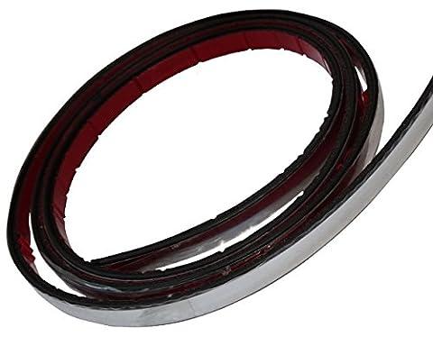 Baguette Chrome - Aerzetix: 8mm 9.5m Bande baguette adhésive couleur