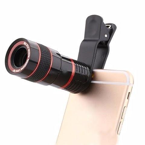 M-one/8x Optical téléphone Camera Lens mise au point manuelle Télescope Zoom pour–Lenovo P2–Smartphone Téléphone portable