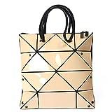 NOBIE, Tasche, Damenhandtasche, Geometrische Rhombische Tasche, Schultertasche, Mode-Handtasche, Mode, Großzügig,A