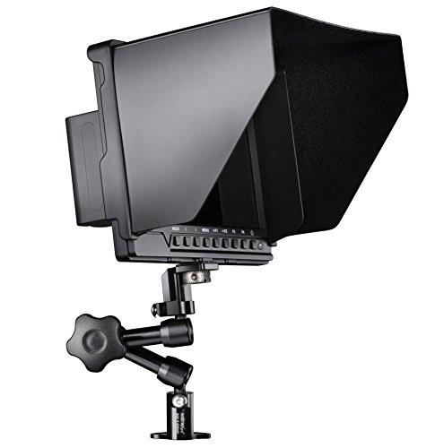 Walimex Pro Full HD Monitor Direktor III Set (1x Akku, 1x Gelenkarm (18 cm), 1x Gelenkarm Verdrehschutz, mit HDMI und AV Eingang) schwarz Dslr-swivel Mounts