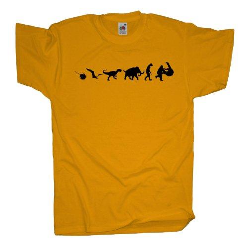 Ma2ca - 500 Mio Years - Judo T-Shirt Sunflower