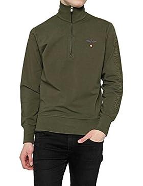 Aeronautica Militare Small Zip Linea Fashion Underwear, Felpa Uomo