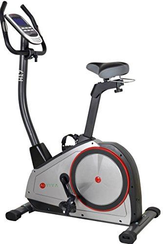 AsVIVA H17_P Heimtrainer Ergometer Cardio, App-Bluetooth, Generator System, 15 kg Schwungmasse