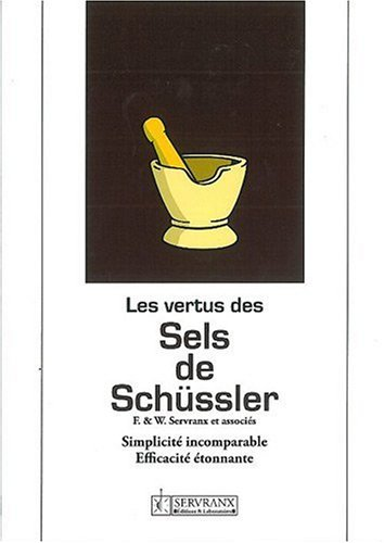 Les vertus des sels de Schussler