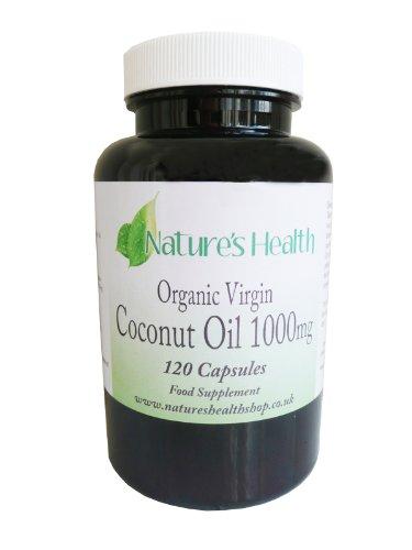 Coconut Oil capsules (1,000mg) – Natural Anti-biotic