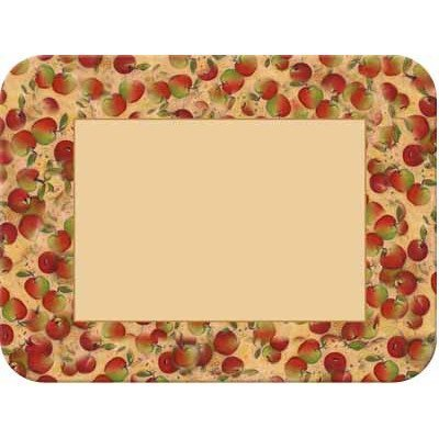 Tuftop Apples (Tuftop McGowan Apples Border Cutting Board, Multicolor by Tuftop)