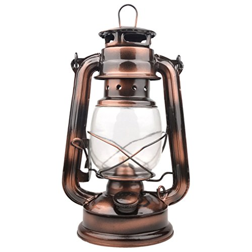 FHTD LED Hurricane Laterne   Vintage Storm Lampe Licht + Dimmer   Batteriebetriebene Retro Öllampe   Dekorative Tisch/Hänge Laterne Für Drinnen, Camping, Garten, Theaterstück