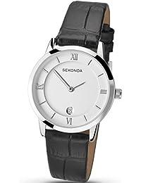 Armband- & Taschenuhren Sekonda Unisex-adult Analogue Classic Quartz Watch With Rubber Strap 1372.27