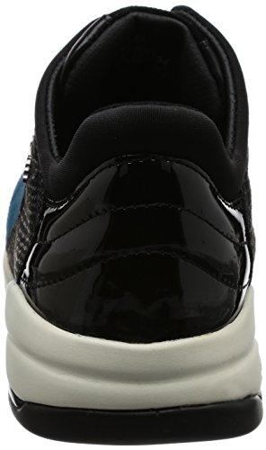 Geox Damen D Sfinge A Sneakers Blau (OCTANE/NAVYC4186)
