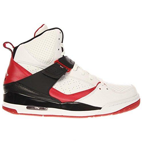 Nike Jordan Flight 45 Herren - Weiß/Rot/Schwarz