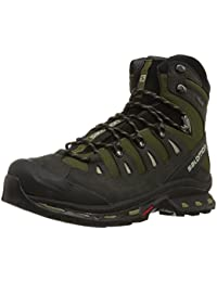 Salomon L37325900 Quest 4D 2GTX Backpacking Shoes (Green/Asphalt/Dark Titanium)