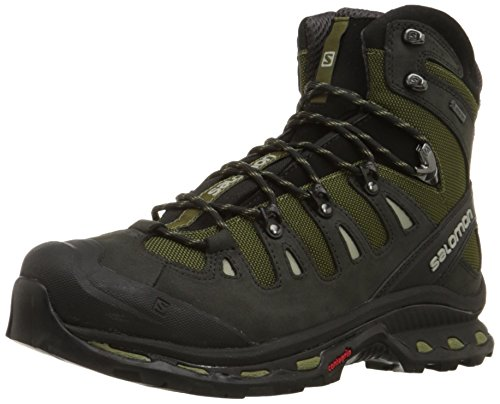 Salomon L37325900 Quest 4D 2GTX Backpacking Shoes, UK 7 (Green/Asphalt/Dark Titanium)