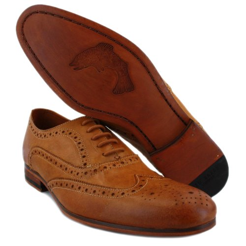 Ted Baker Terak 9-12035 Herren Oxford Brogue Tan