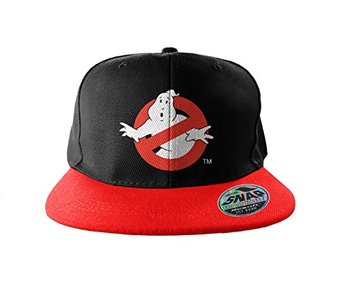 Ghostbusters Cappellino da Baseball Snapback cap Logo Embroidered Ufficiale dc1d4cf375f6