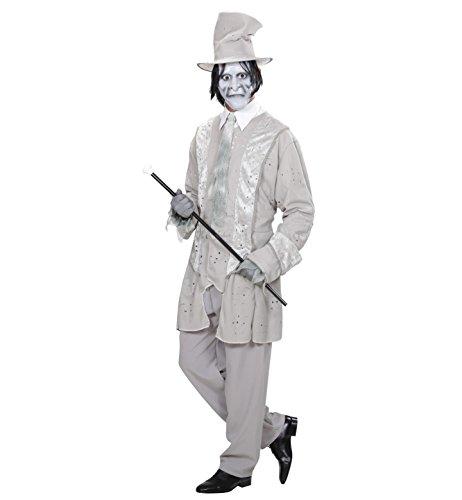 Widmann 98962 - Erwachsenenkostüm Geister Gentleman, Jacke mit Hut und (Kostüme Herren Erwachsene Zombie Street)