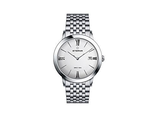 Eterna Eternity Lady Quartz Watch, ETA 955.112, 40mm, Silver, 2711.41.12.1745