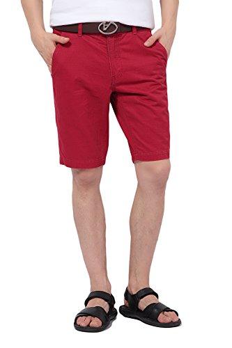 Pau1Hami1ton PH-01 Freizeit Bermuda Shorts Slim Fit Baumwolle Zwillich Herren Hose Kurzhose Pant (44, (Uk Kostüme Duo)