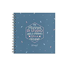 Mr. Wonderful Planner, Planner di Studio Per I Primi Della Classe