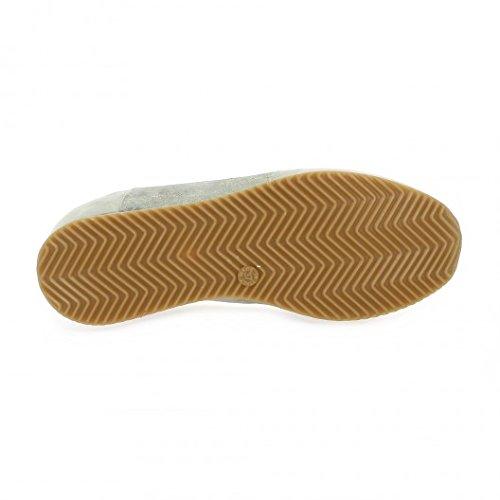 Pao Baskets cuir velours beige Beige
