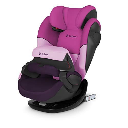 Cybex Seggiolino Auto 2 In 1 per Bambini Pallas M-Fix, per Auto con e Senza Isofix, Gruppo 1/2/3/9-36 kg, Collezione Colori 2019, Purple Rain