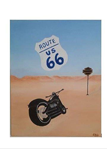 Freiheit Motorrad Route 66 Chopper