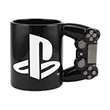 Paladone Playstation 4th Gen Controller Mug - Ceramic Coffee Mug for Gamers