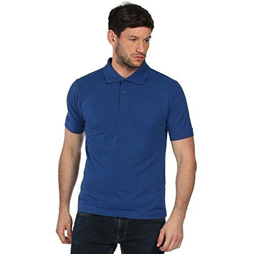 Regatta cls 65/35 - piccola camicia di polo classica - azzurro reale