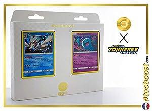 Oratoria (Primarina) 67/214 Y Qulbutoké (Wobbuffet) 93/214 - #tooboost X Soleil & Lune 8 Tonnerre Perdu - Box de 10 Cartas Pokémon Francés + 1 Goodie Pokémon