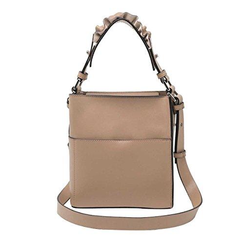 Mode Handtasche Schultertasche Messenger Bag Wannenbeutel Frauen Apricot