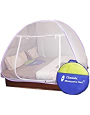 Classic Mosquito Net For Double Bed Purple