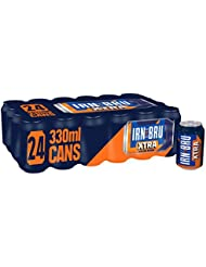 IRN-BRU Xtra Soda, 24 x 330 ml
