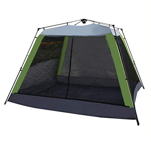 Weifan tubi in acciaio per tende da esterno cai-big space 8-10 persone tenda completamente automatica che aumenta il doppio strato impermeabile traspirante