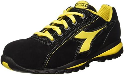 Diadora - Glove Ii Low S1p Hro, zapatos de trabajo Unisex adulto, Negro (Nero), 48 EU