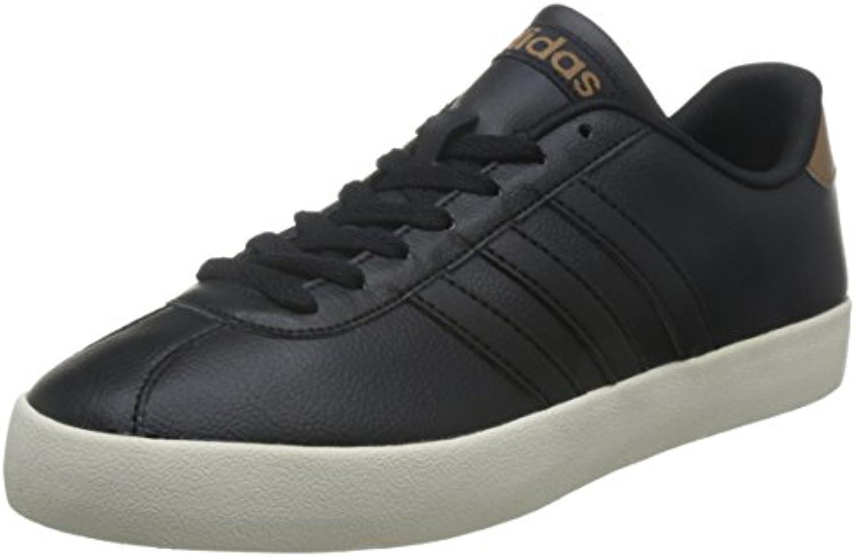 adidas NEO Herren Sneakers Vlcourt VULC Schwarz 200 431/3