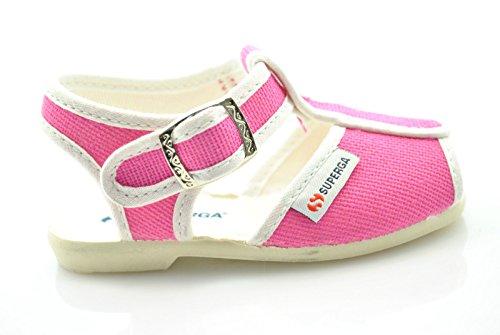 Superga Strappy Infantil 1200 Fuxia Sapatos Unisex Rosa Cotj 6qvgFnX