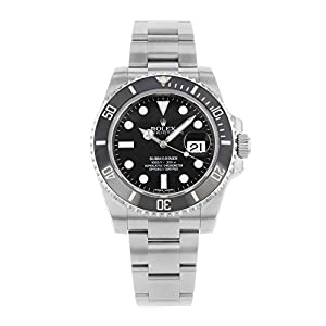 Rolex Oyster Perpetual Submariner Date Two-Tone Steel Mens Watch 11613BL