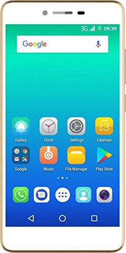 Micromax Spark 4G VOLTE(12.7cm) 5 Inch Android Mobile Phone, Gold
