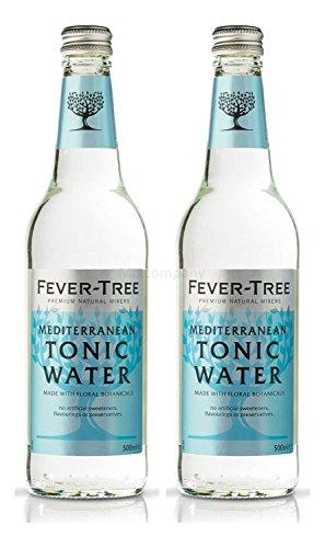 fever tree mediterranean tonic Fever-Tree Mediterranean Tonic Water 2x 500ml = 1000ml