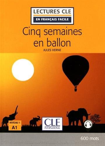 Cinq semaines en ballon - Livre par Jules Verne