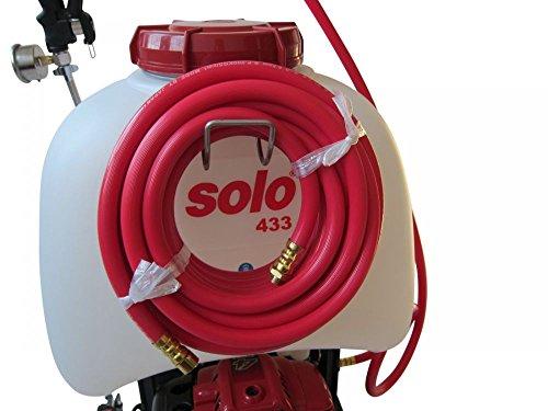 Verlängerungsschlauch 10Meter , inklusive Haltebügel V2A für SOLO 433