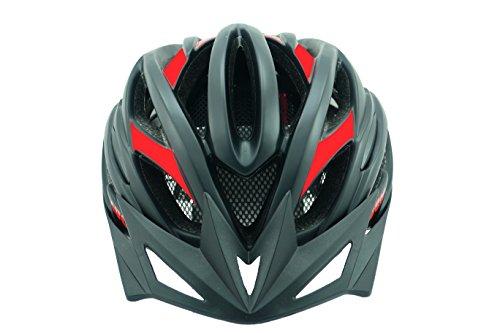 LUCK Casco DE Ciclismo Nueva Linea Profesional (M, Rojo) equivale a una Talla S.