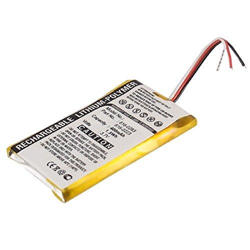 subtel® Qualitäts Akku kompatibel mit Apple iPod Nano 1 Gen. A1137-616-0283 616-0223 616-0224 (400mAh) Ersatzakku Batterie Apple Ipod Nano 1. Gen