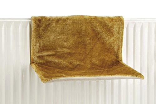 katzeninfo24.de Beeztees 405303 Heizungshaengematte Sleepy, 46 x 31 x 24 cm, gelb