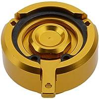 Sharplace Tapa de Llenado de Fluido Aceite de Motor Protector Reemplazo Para Kawasaki Z800 - Oro