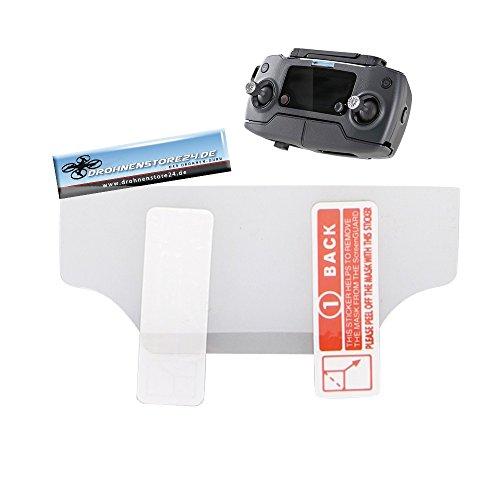 Preisvergleich Produktbild Premium Displayschutzfolie für DJI Mavic Fernsteuerung - Schütz vor Kratzern und Staub - Screen Protector - Zubehör Mavic Pro